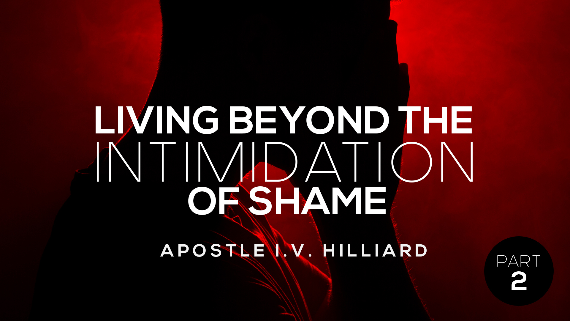Living Beyond The Intimidation Of Shame part 2
