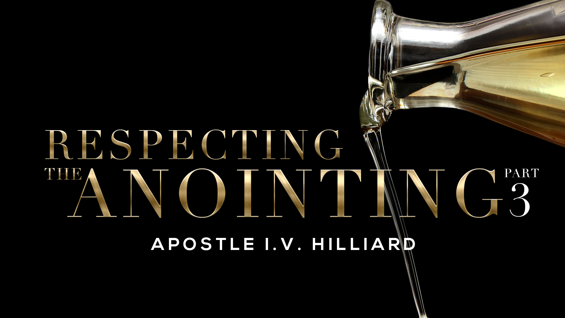 Respect The Anointing Part 3