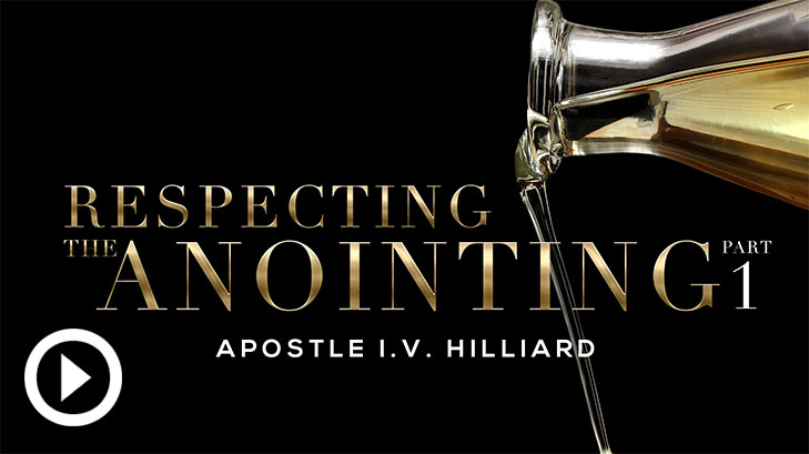 Respect The Anointing Part 1